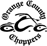 Orange county choppers, Vinyl decal sticker