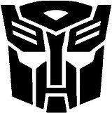 Autobots, Transformers, Vinyl decal sticker