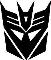 Decepticons, Transformers, Vinyl decal sticker