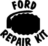 Ford Pepair Kit, Grenade, Vinyl cut decal