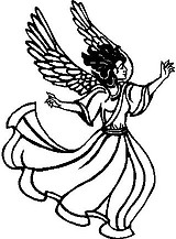 Angel, Vinyl decal sticker