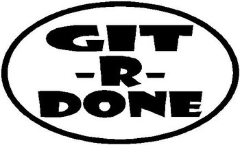 Git-R-Done, Full Color decal
