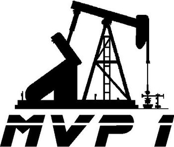 Rough neck, MVP 1, Vinyl decal sticker